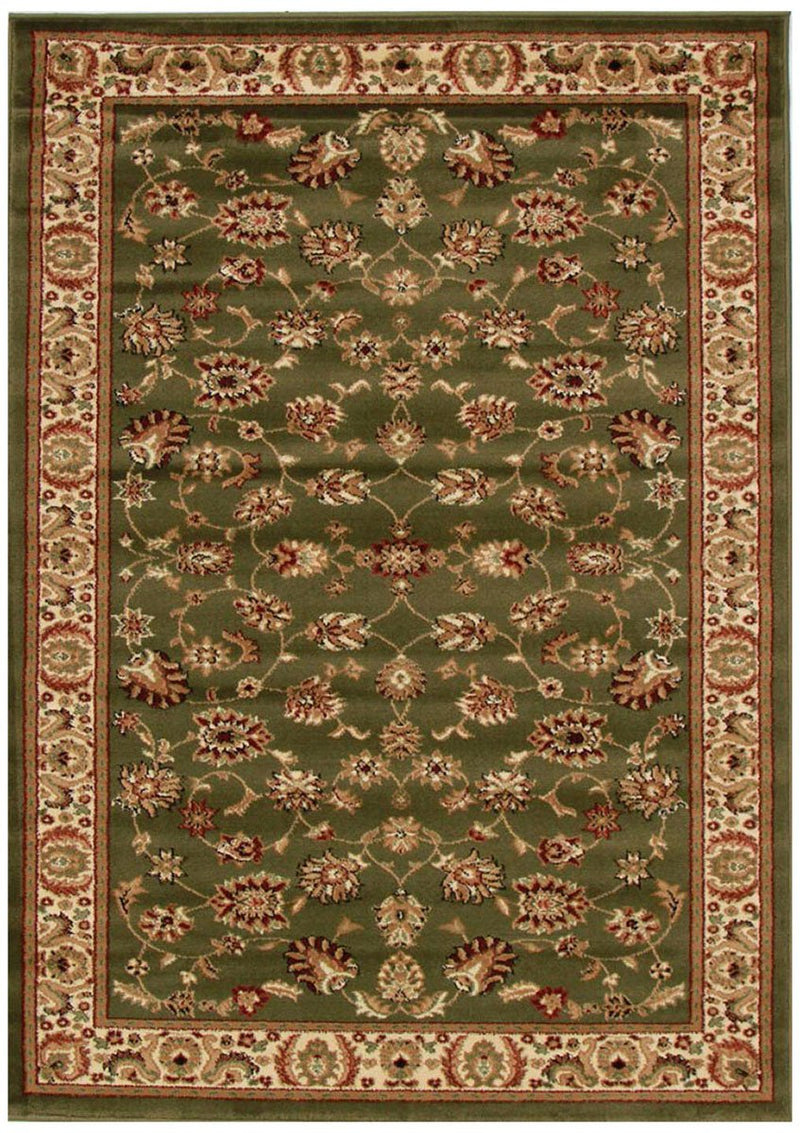 Istanbul Collection Medallion Classic Pattern Black Rug