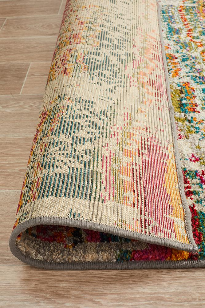 Stunning Monet Inspired Multi Rug