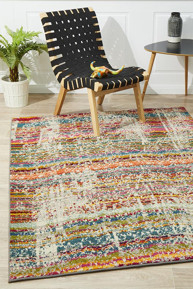 Heirloom Kings Court Designer Blue Runner Rug