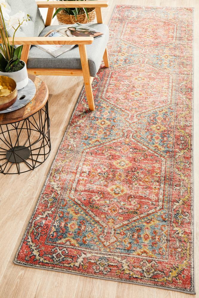 Oasis Sabrina Multi Tribal Runner Rug