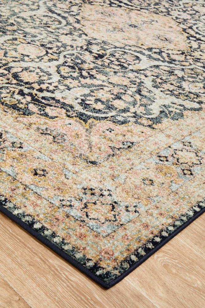 CHARM 858 Midnight Rug
