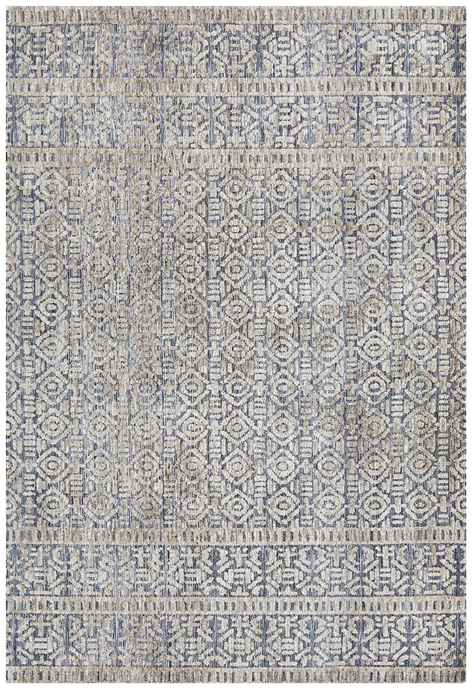 ATLANTA Miriam Navy Grey Rug