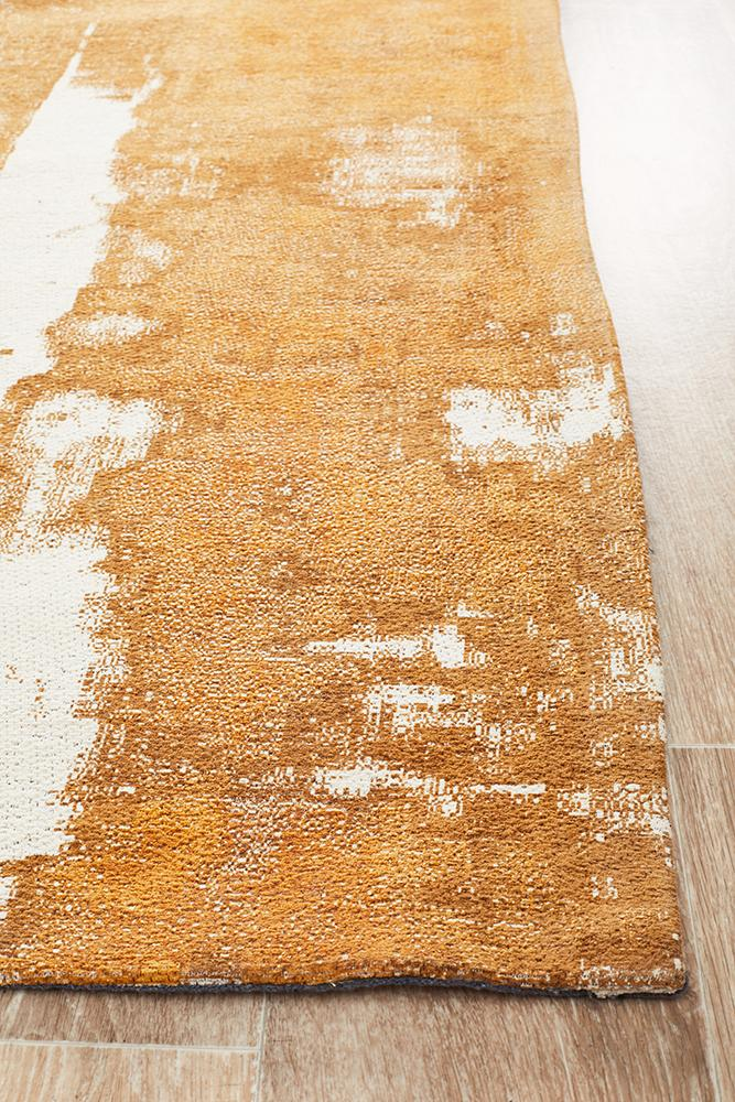 Magic 11 Mustard Runner Rug