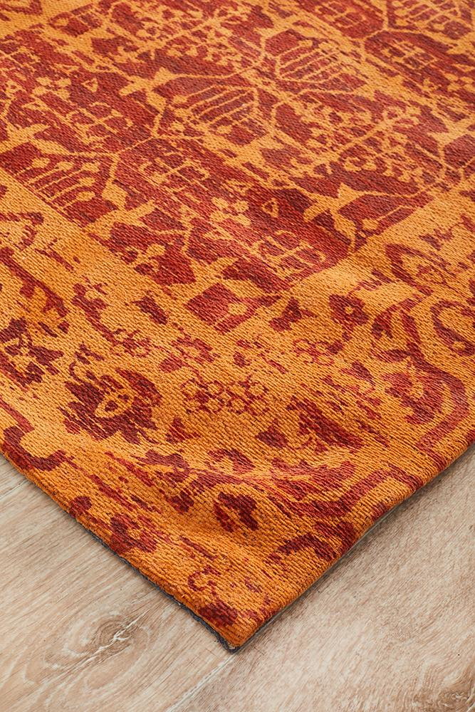 Magic 88 Paprika Runner Rug