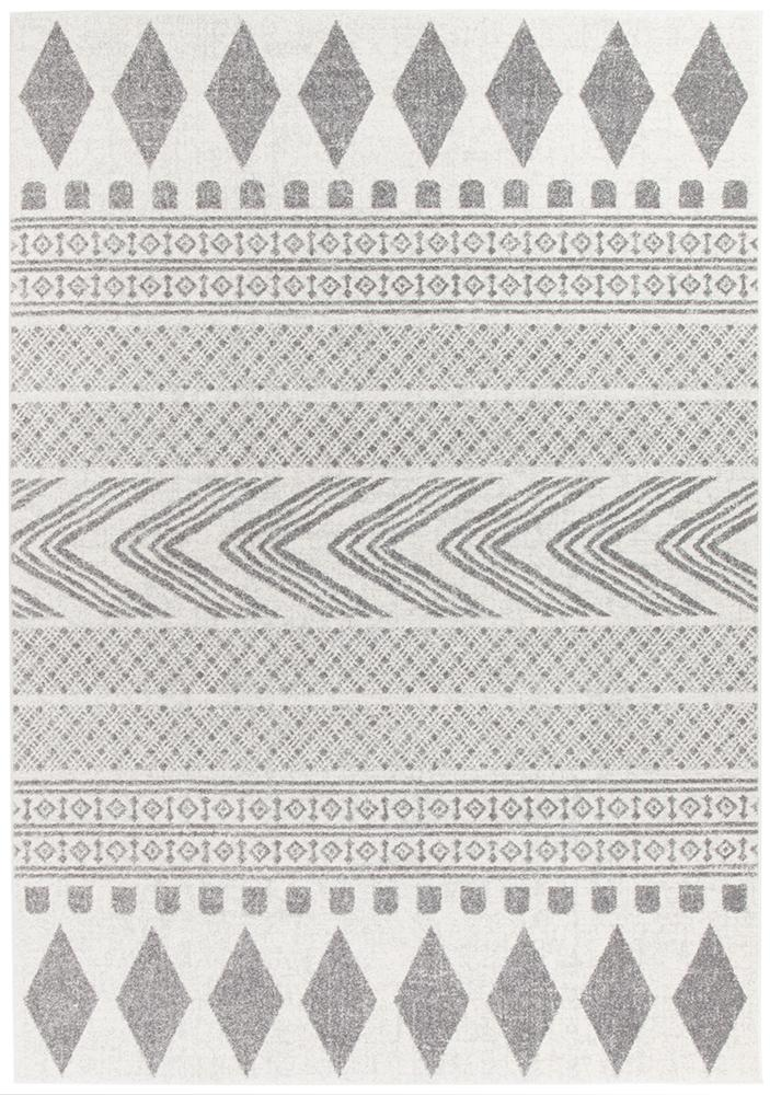Mirage Adani  Modern Tribal Design Grey Rug