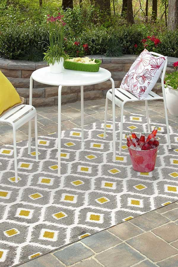 Marquee Indoor Outdoor 300 Grey Rug