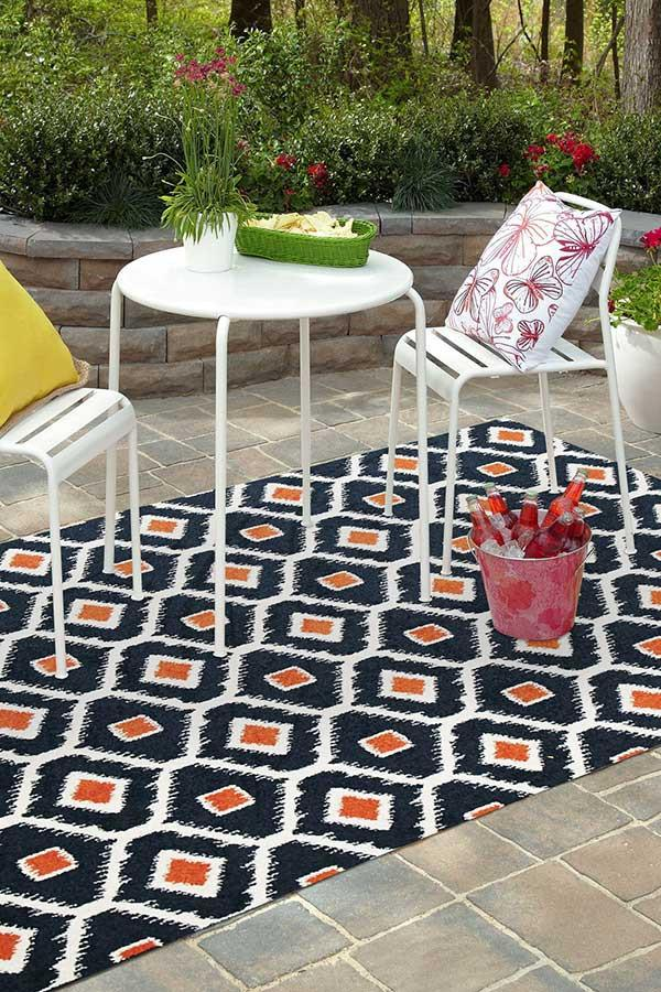 Marquee Indoor Outdoor 305 Peacock Rug