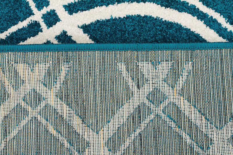 Marquee Indoor Outdoor 308 Peacock Rug