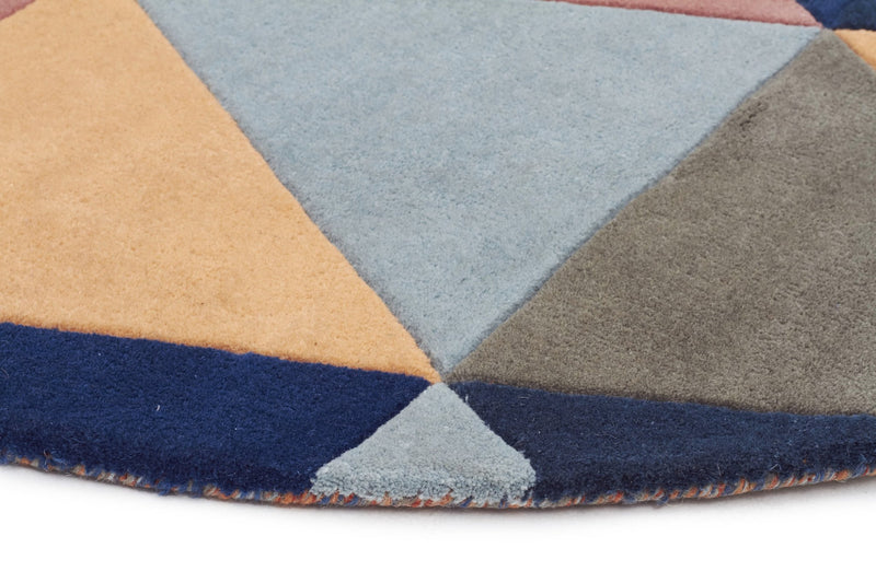 Matrix Pure Wool 905 Multi Round Rug