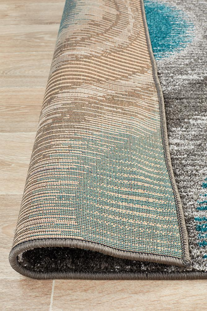 EDEN Lucid Dream Modern Rug Blue