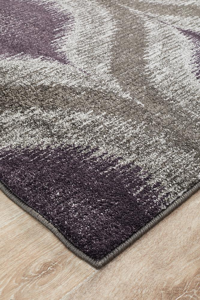 EDEN Lucid Dream Modern Rug Purple