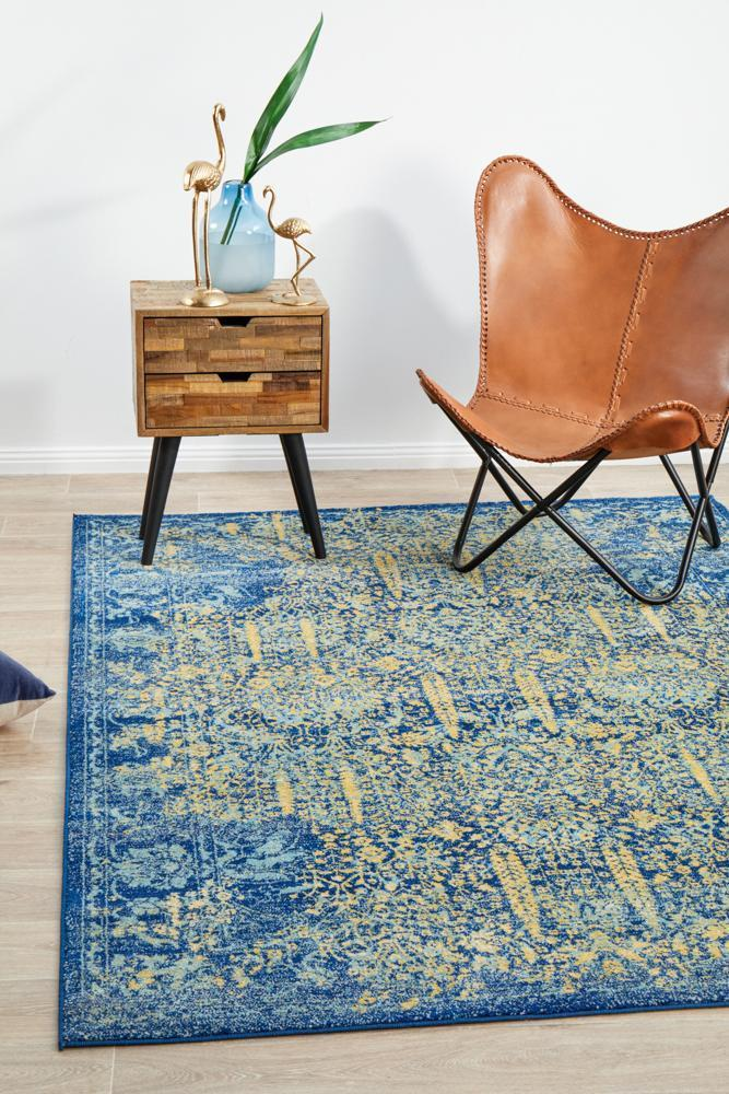 RADO 411 Royal Blue Rug