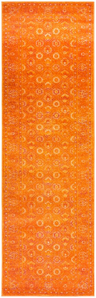 RADO 444 Burnt Orange Runner Rug