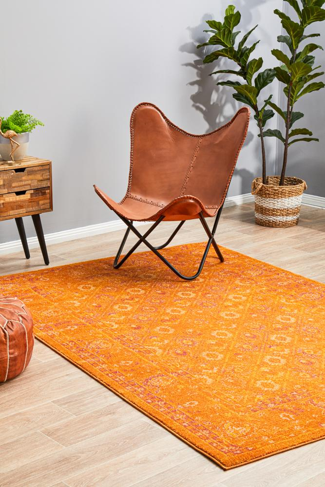 RADO 444 Burnt Orange Rug
