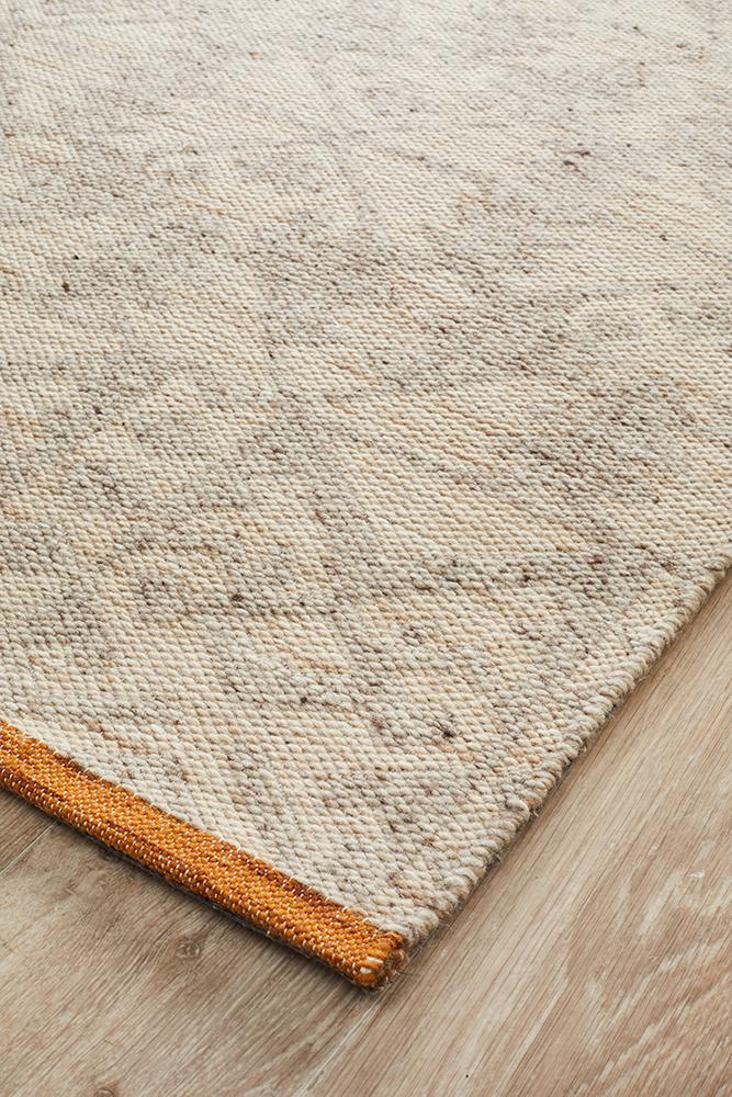 ELEGANCE Louis Natural Rust Rug