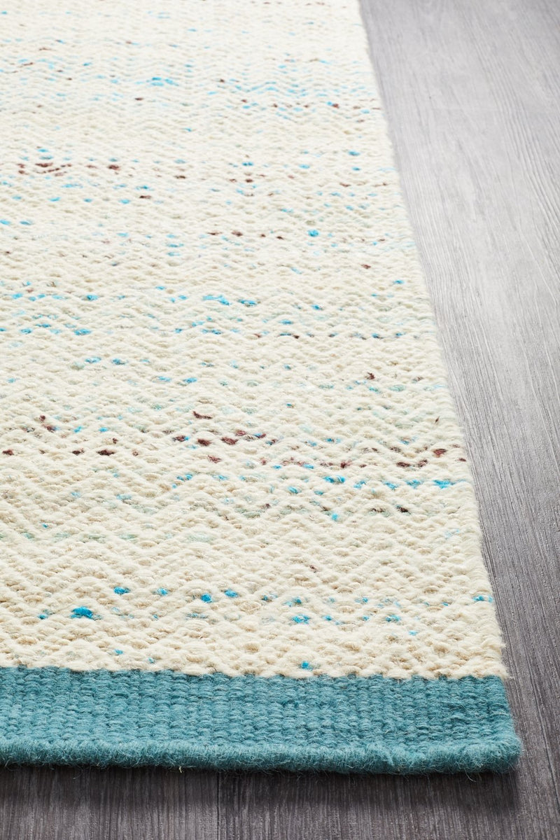 NATURE 407 Turquoise Rug
