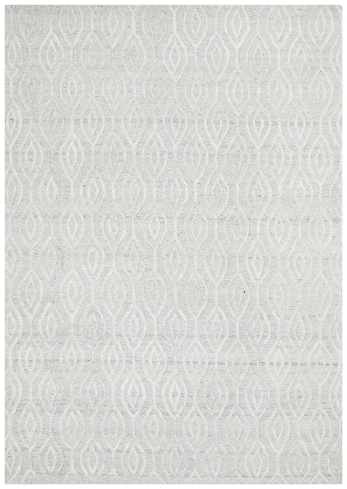 DOLLY Winter Wish White Modern Rug