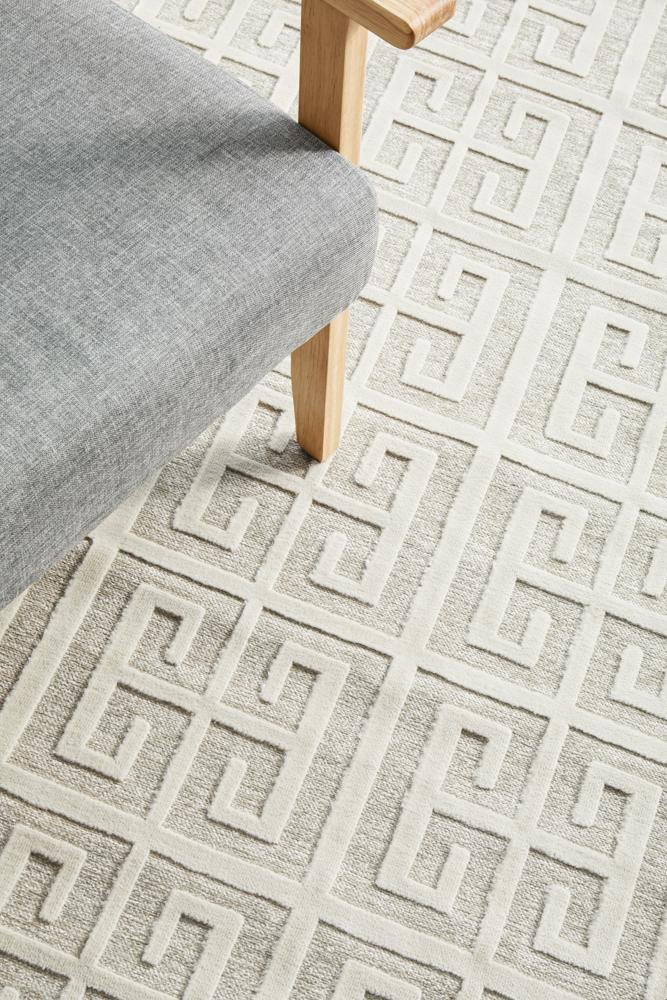 CITY Brenda Natural White Runner Rug