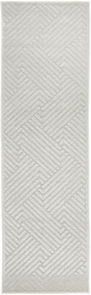 CITY Cindy  Natural White Runner Rug