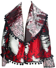 Load image into Gallery viewer, Reversible Shawl Jacket