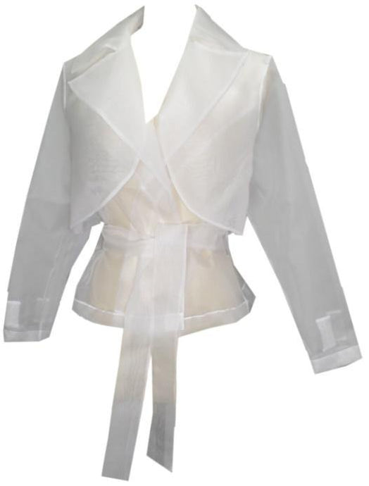 OOH LALA Organza Wind Breaker Jacket