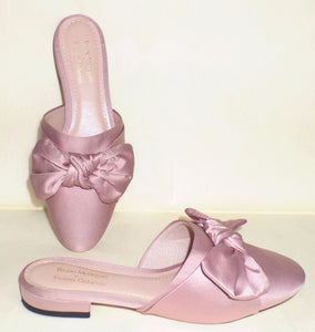 Miley Satin Mules