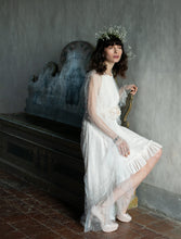 Load image into Gallery viewer, PRE-ORDER Pearl Tulle Cascade Cape