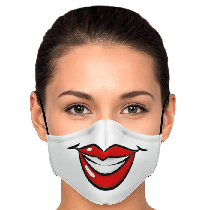 Big Smile Face Mask