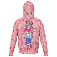 Cherry Blossom Samurai Zip Hoodie - Party is Life