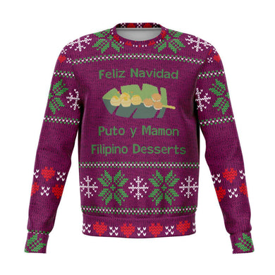 Puto y Mamon Ugly Christmas Sweater