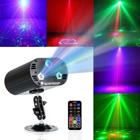 3 Lens 36 Patterns RGB Laser Light Show - Party is Life