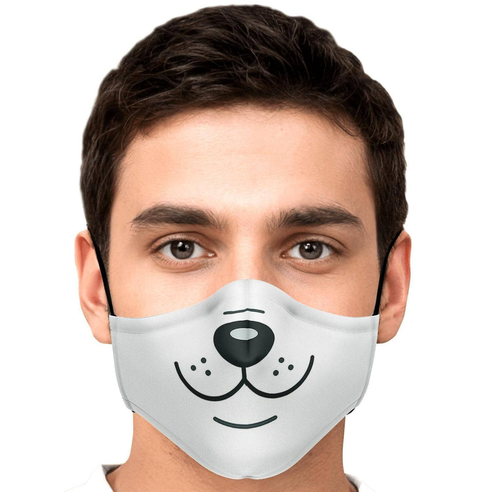 Doggie Smile Fask Mask