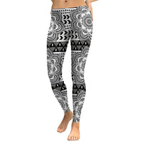 Lotus Mandala Leggings - Party is Life