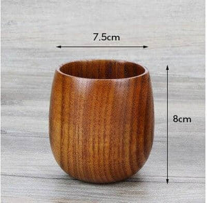Jujube Wooden Cup Set