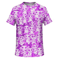 Pink Axolitl Party T Shirt