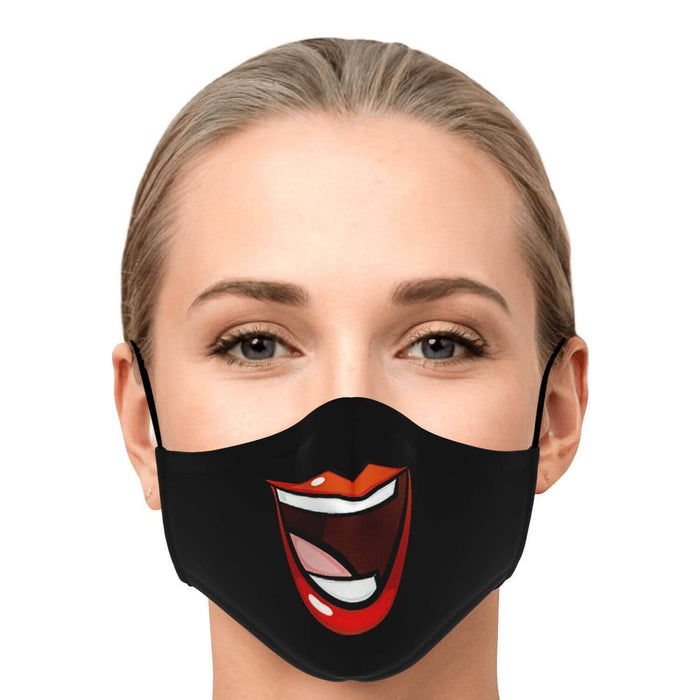 Masque Huge Smile Fase - Noir
