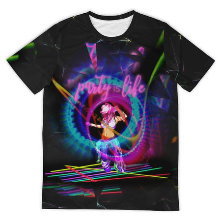 Glowstick Girl Shirt - Party is Life