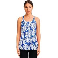 Blue Axolitl Party Tank Top