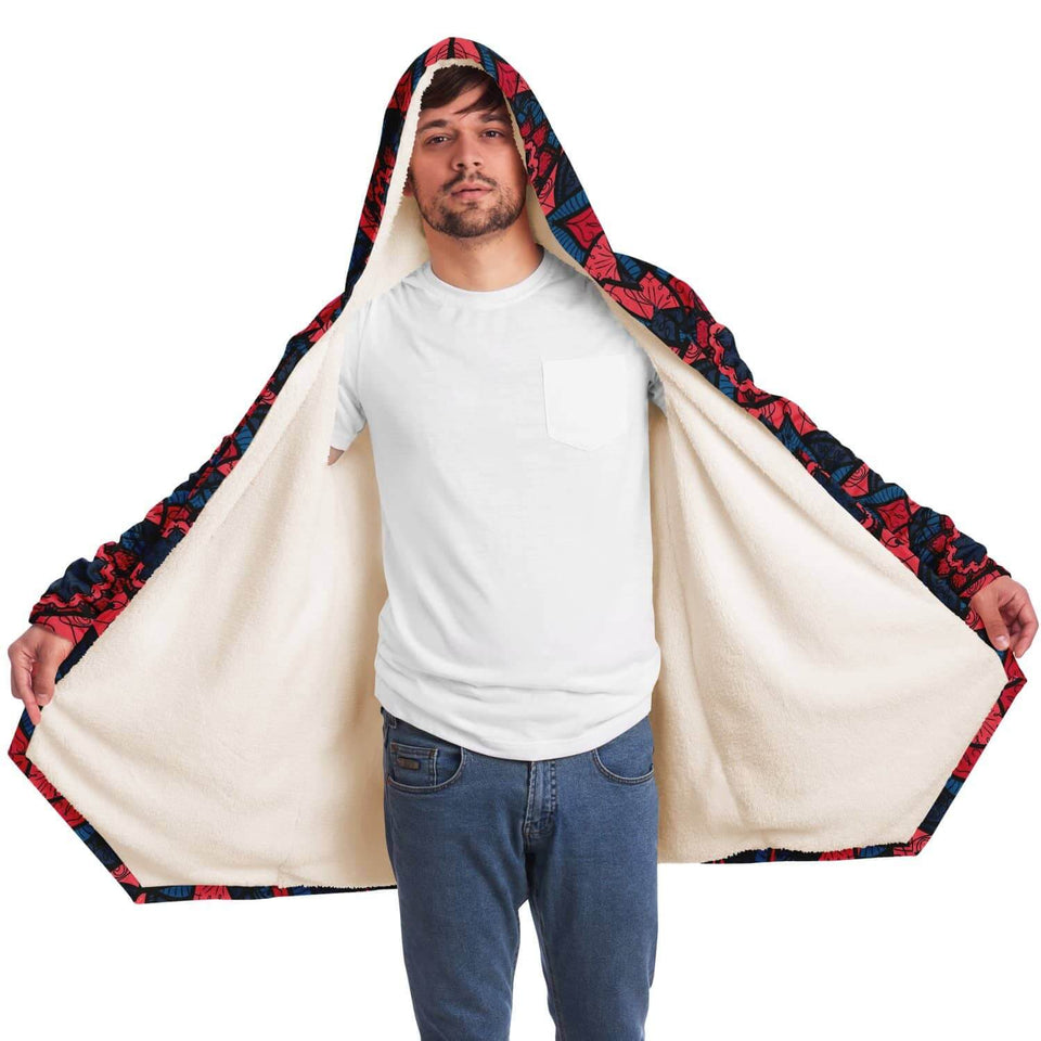 Red Blue East Serenity Cloak