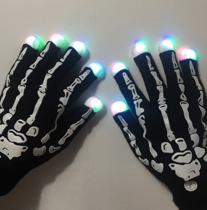 Pair of LED Light Gloves - Party is Life