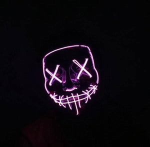 LED Glow Masks - Party is Life