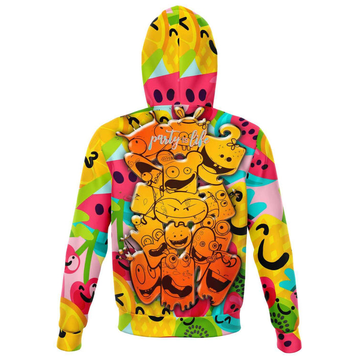 Sweat à capuche zippé Little Fruit Monsters