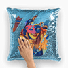 Masked Girl Sequin Cushion Cover - Party is Life