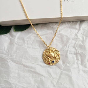 Coin Zodiac Necklace