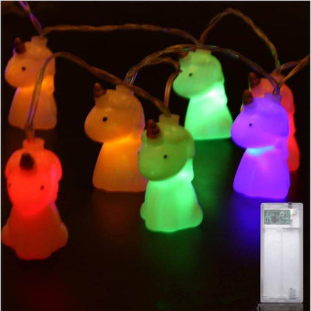 10pcs LED Unicorn Party Lights