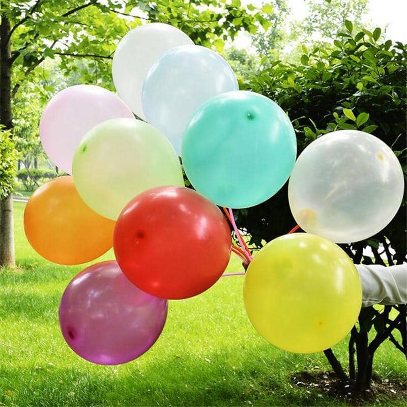 10pcs 10inch All Purpose Balloons - Party is Life