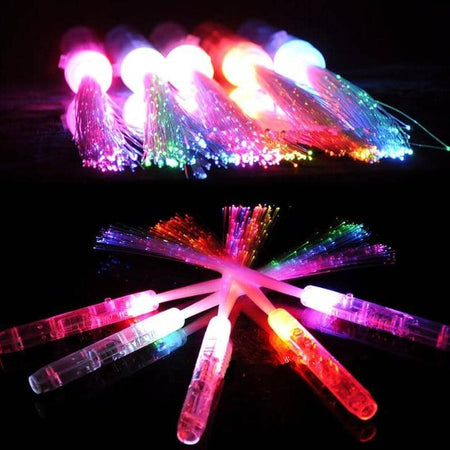 Light Up Fiber Optic Sticks 20 Pieces - Party is Life
