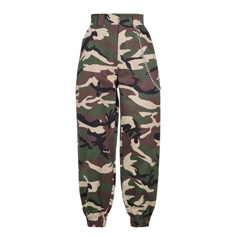 Women's Cargo Pants - Party is Life