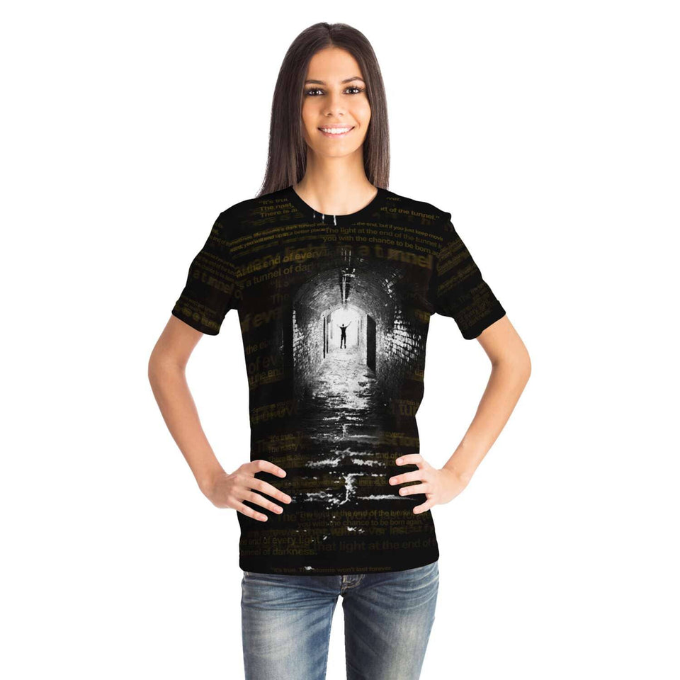 Light at The End of the Tunnel Unisex Shirt