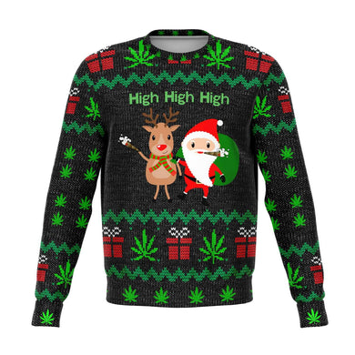 High High High Ugly Christmas Sweater